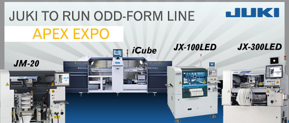 Juki to Run Odd-Form Line Apex Expo